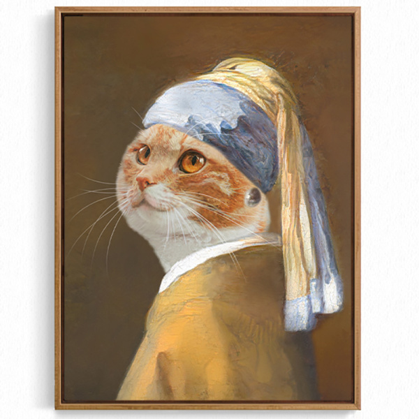 Canvas Prints For Your Pet Wall Decor Artwork Personalized Portrait Best Gift